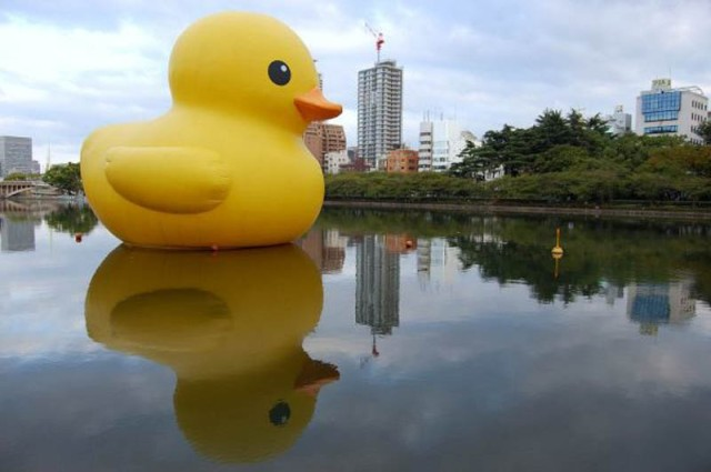 Hofman's Osaka duck. [via twistedsifter.com]