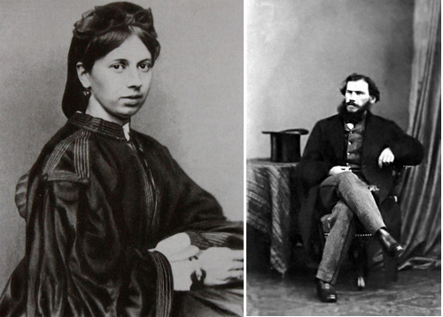 Sophia and Leo. Photos from around the time of their wedding in 1862.