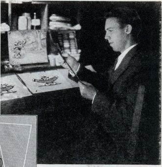 Ted Eshbaugh, 1932, from aModern Mechanix article