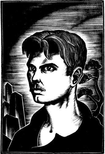 Ward self-portrait from the 1930s