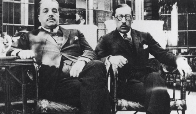 Diaghilev and Stravinsky