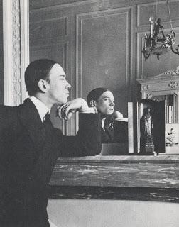 Nijinsky photographed by Stravinsky in 1911