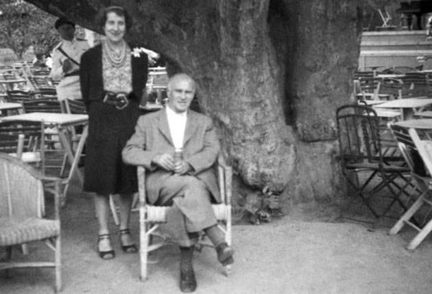 Nijinsky and Romola post-War. [independent.co.uk]