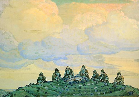 "Roerich, ""The Great Sacrifice"", 1912"