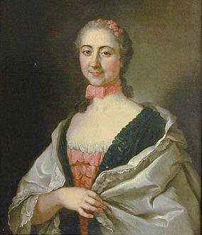 Portrait of d'Eon circa 1775.