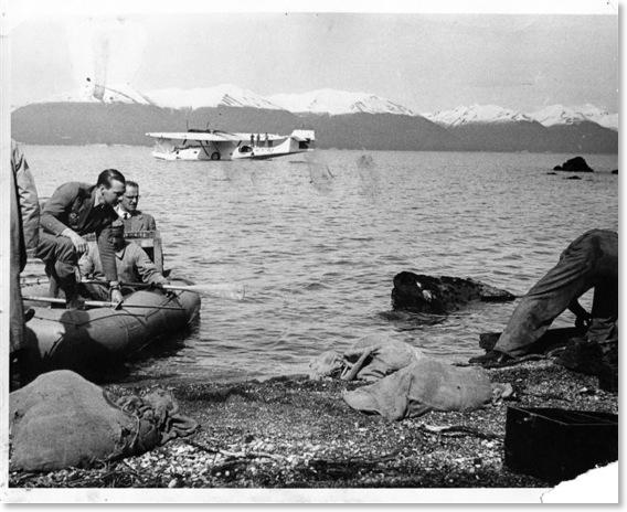 Release of Manitoba beavers into Tierra del Fuego, 1946. [LambAir.com]