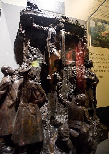 """Canada's Golgotha"" by Francis Derwent Wood on display at the Canadian War Museum. [via MelbourneBlogger]"