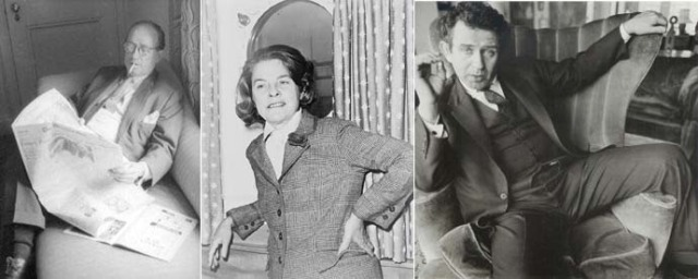 Morley Callaghan, Mary McCarthy, Norman Mailer
