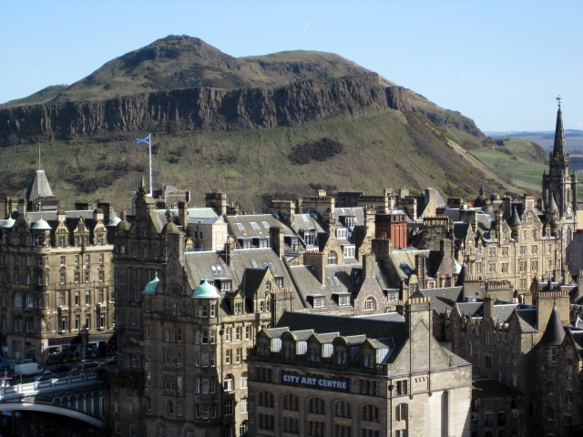 Arthur's Seat from Edinburgh. [Wikimedia Commons]
