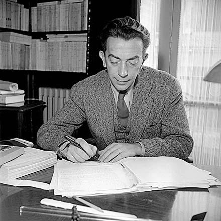 Marcel Ayme, 1940s.