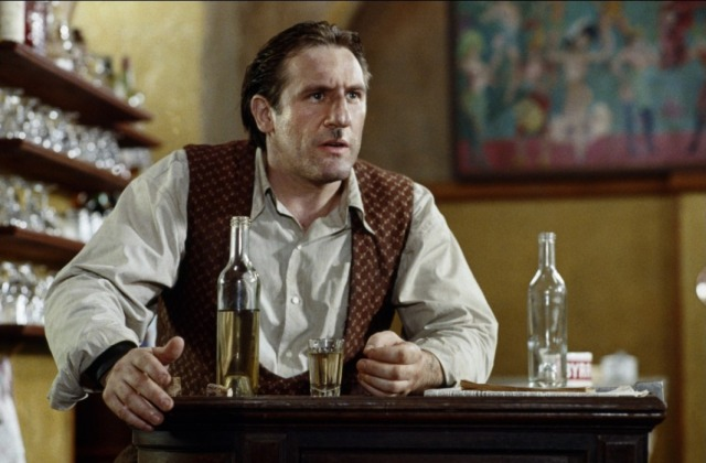 Gerard Depardieu as Leopold in the 1990 film version of Uranus.