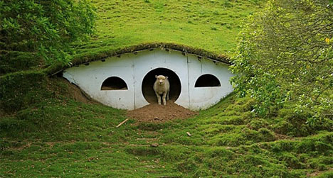Hobbit Homes hobbit house « shrine of dreams