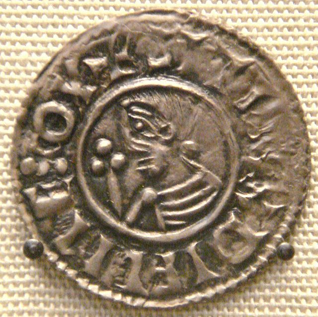 Coin issued by Sigtrygg during his Dublin rule. [British Nation Museum via Wikipedia]