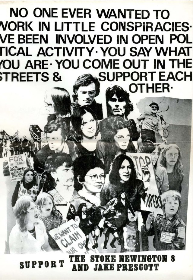 Poster from 1971 during the trials. [hackneyhistory.wordpress.com]
