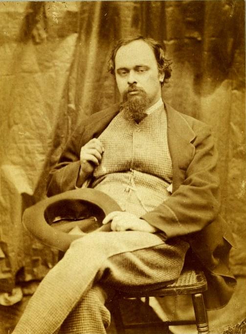 Dante Gabriel Rossetti, photograph by Lewis Carroll [ via lewis carroll.org ]