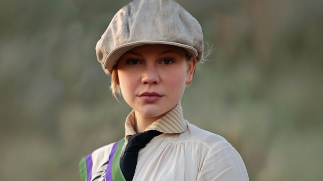 """Adelaide Clemens as Valentine. """"What a jolly mistress she'd make,"""" says Christopher. Sure, Chrissie, but first you have to embrace her."""