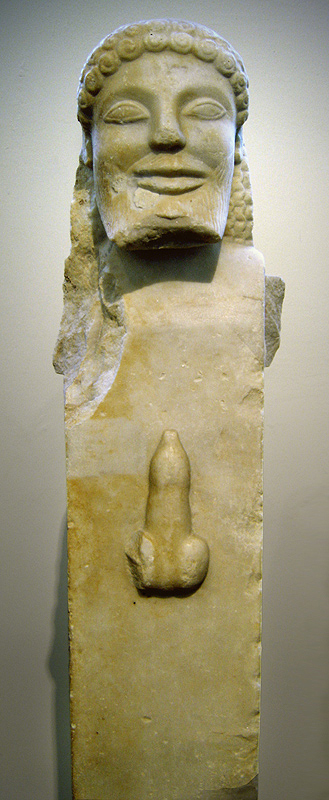 Herma from the island of Siphon, National Archeological Museum, Athens [photo:Ricardo André Frantz Wikimedia Commons]
