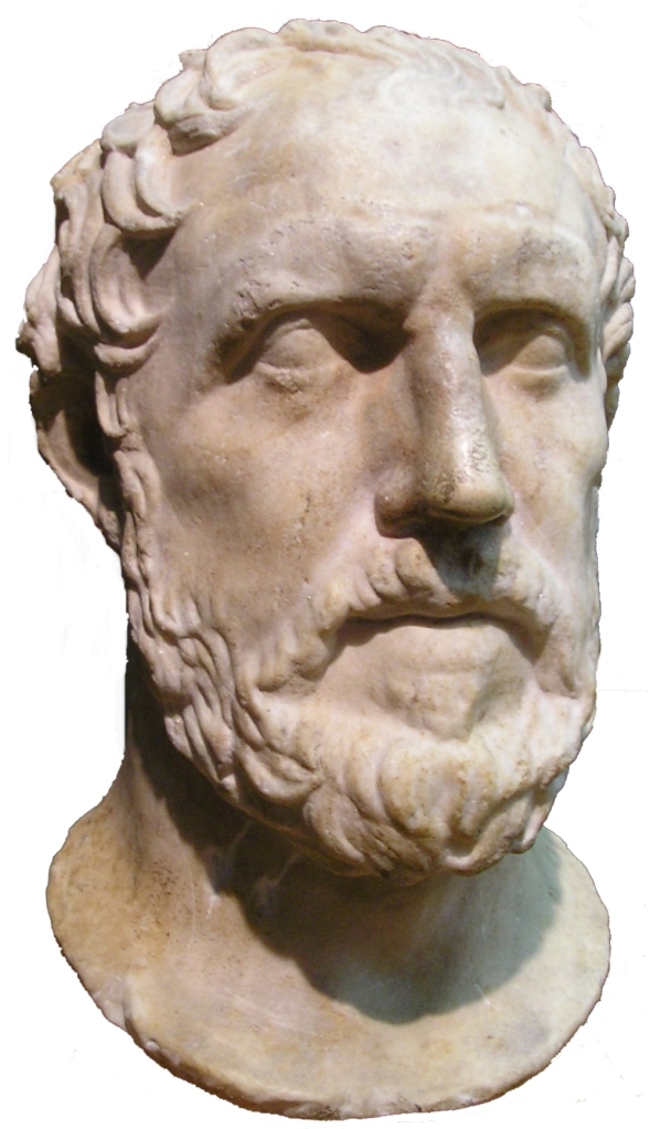 Bust of Thucydides, Royal Ontario Museum [photo:captmondo Wikipedia Commons]
