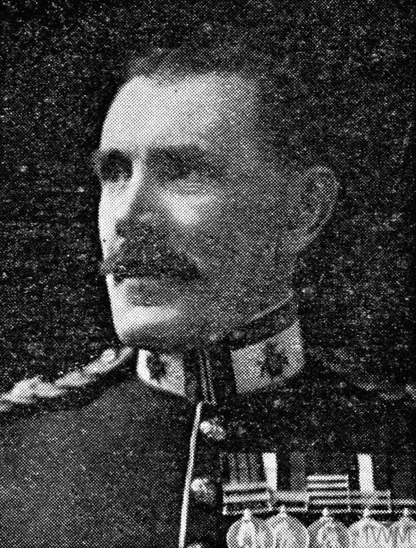 Major Percy George Rigby. Unit: 7th Battalion, 1st British Columbia Regiment, Canadian Expeditionary Force. Death: 10 March 1915 shot by sniper Near La Boutillerie Armentieres Western Front Copyright: © IWM. Original Source: http://www.iwm.org.uk/collections/item/object/205387788